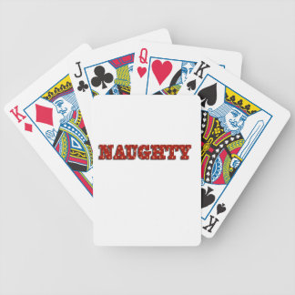 Naughty Bicycle Playing Cards
