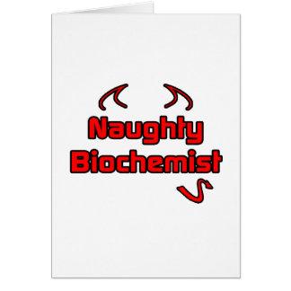 Naughty Biochemist Greeting Cards
