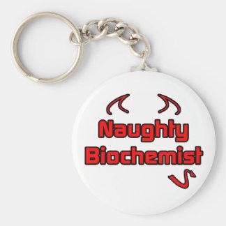 Naughty Biochemist Key Chains