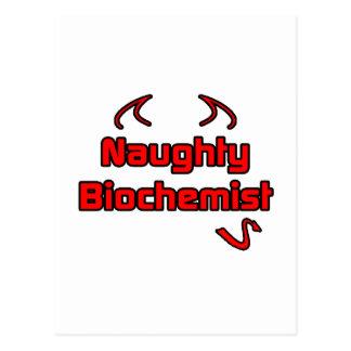 Naughty Biochemist Post Card