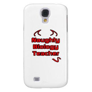 Naughty Biology Teacher Galaxy S4 Cases