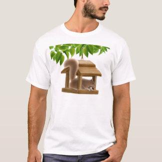 Naughty Bird Feeder Squirrel T-Shirt