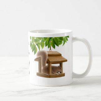 Naughty Birdfeeder Squirrel Mug