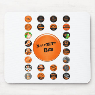 Naughty Bits Merit Badges Mouse Pad