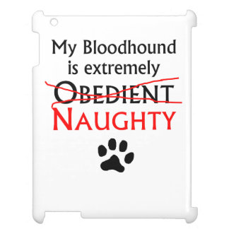 Naughty Bloodhound iPad Cover