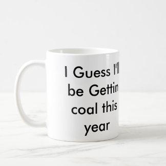 Naughty Boston Classic White Coffee Mug