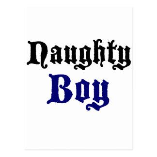 Naughty Boy Postcard