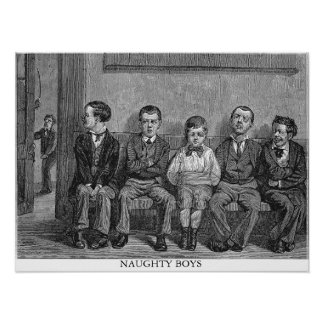 Naughty Boys Poster