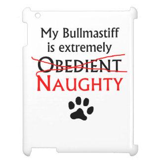 Naughty Bullmastiff iPad Covers