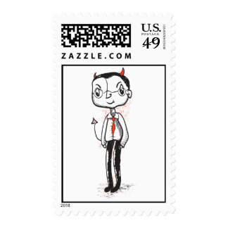 Naughty Businessman Stamps
