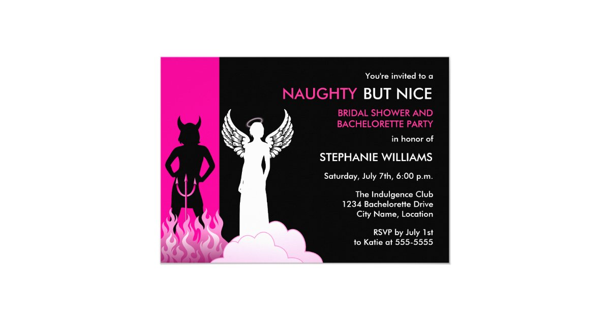 Naughty Invitations & Announcements | Zazzle