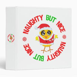 Naughty But Nice Christmas Chick Binder