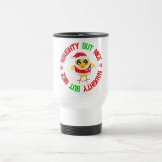 Naughty But Nice Christmas Chick Coffee Mug