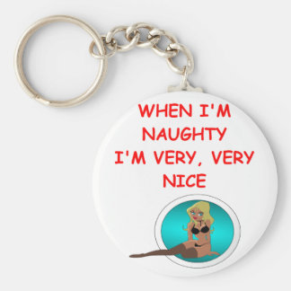 naughty but nice key chains