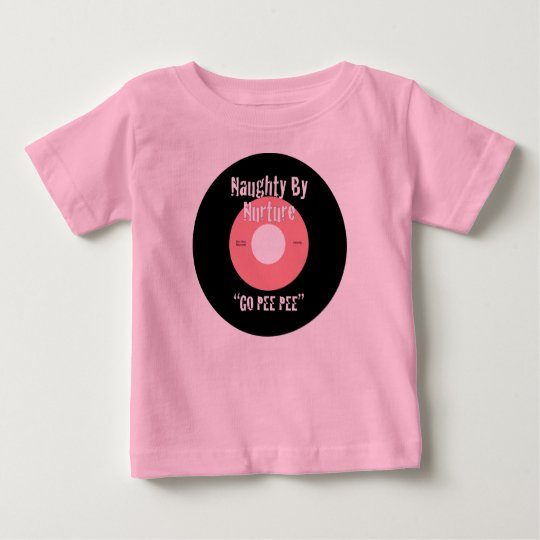 Naughty By Nurture Pink Baby T-Shirt