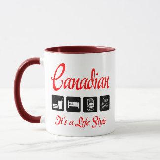 Naughty Canadian Gift Mug