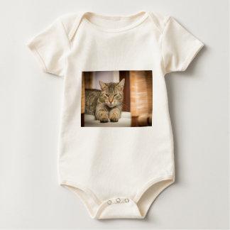 Naughty Cat Baby Bodysuit