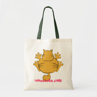 naughty cat! canvas bags