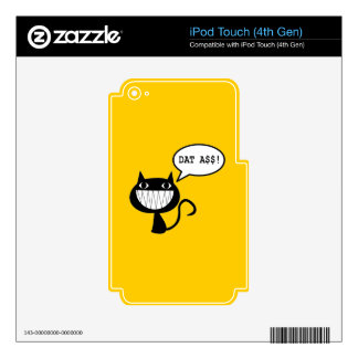 Naughty Cat iPod Touch 4G Skin