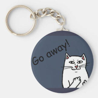 Naughty Cat Keychain