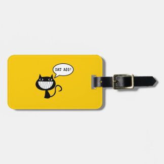 Naughty Cat Tag For Luggage