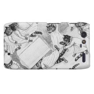 Naughty Cats in the Dormitory Droid RAZR Covers