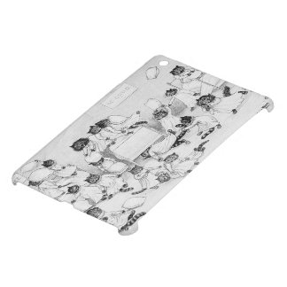 Naughty Cats in the Dormitory Cover For The iPad Mini