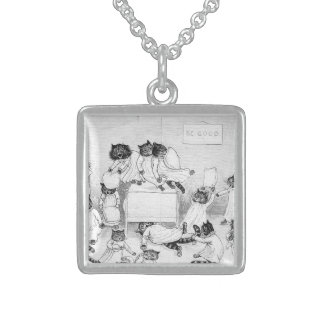 Naughty Cats in the Dormitory Necklace