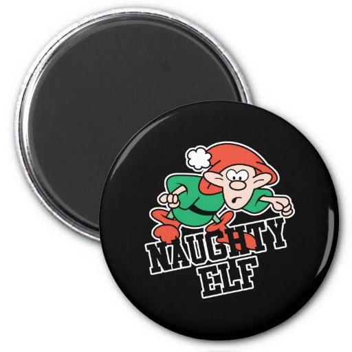 Naughty Christmas Elf Fridge Magnet