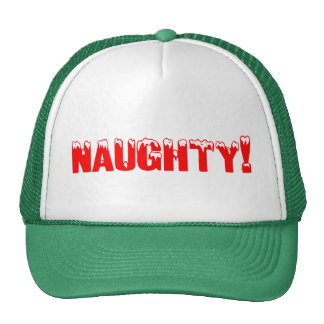 Naughty Christmas Gift Trucker Hat
