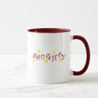 Naughty Christmas Stars Mug