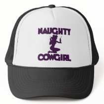 Naughty Cowgirl Trucker Hat