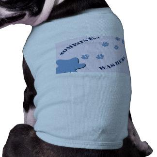 Naughty Doggy T-Shirt Pet Tee