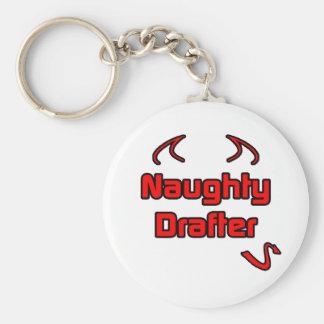 Naughty Drafter Key Chain