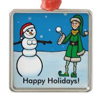 Naughty Elf #1 Ornament