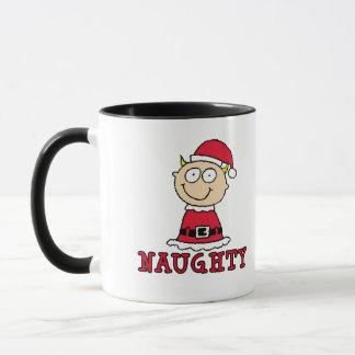 Naughty Elf Holiday Mug