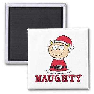 Naughty Elf Magnet