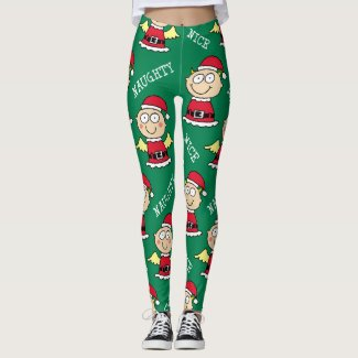 Naughty Elf Nice Elf Pattern