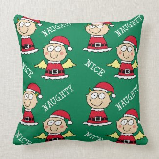 Naughty Elf Nice Elf Pattern