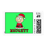 Naughty Elf Stamps