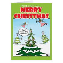 Naughty Elves Card