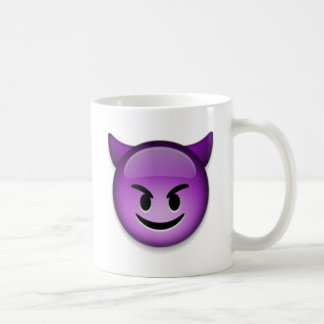 Naughty Emoji face Coffee Mug