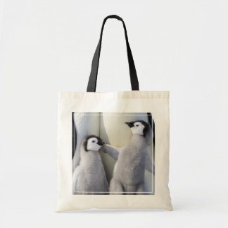 Naughty Emperor Penguin Chick Tote Bag