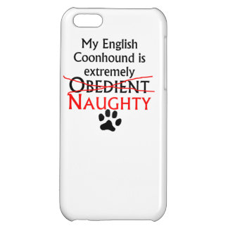 Naughty English Coonhound iPhone 5C Covers