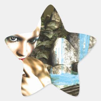 Naughty Fairy Star Sticker