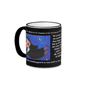 Naughty Flying Nun - Mug of Quotes mug