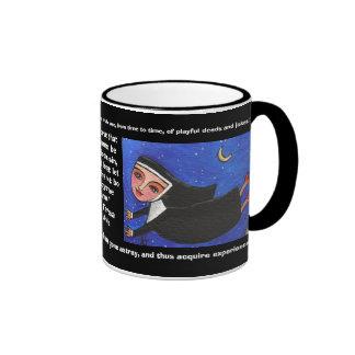 Naughty Flying Nun - Mug of Quotes