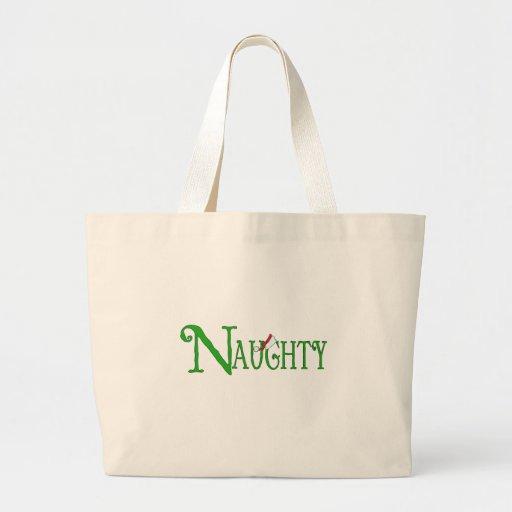 Naughty for Christmas Jumbo Tote Bag