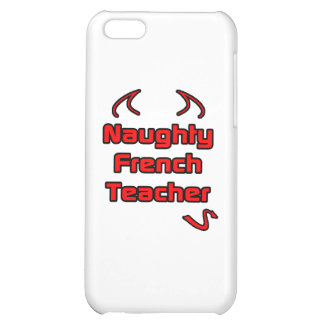 Naughty French Teacher Cover For iPhone 5C