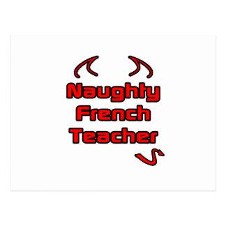 Naughty French Teacher Postcards
